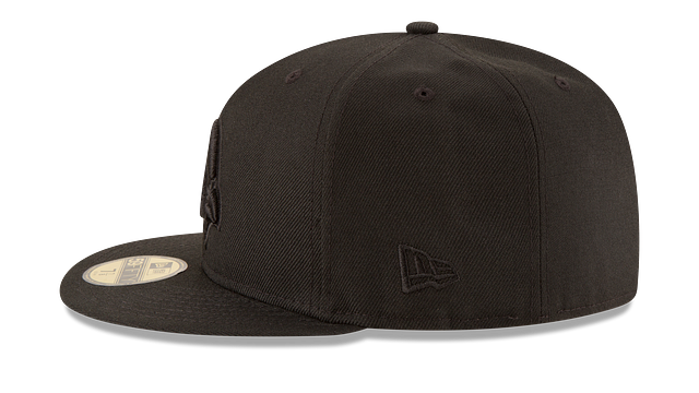 ARIZONA CARDINALS BLACK ON BLACK 59FIFTY FITTED