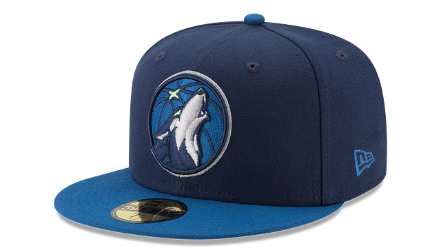 MINNESOTA TIMBERWOLVES 2TONE 59FIFTY FITTED