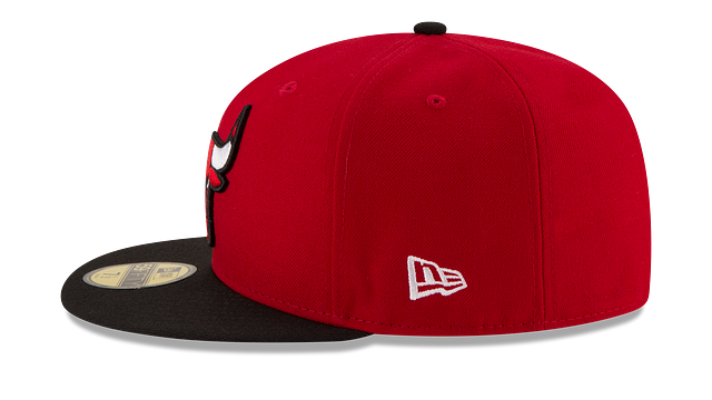 CHICAGO BULLS 2TONE 59FIFTY FITTED