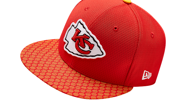 KANSAS CITY CHIEFS OFFICIAL SIDELINE 59FIFTY FITTED