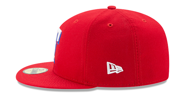 TEXAS RANGERS AUTHENTIC COLLECTION 59FIFTY FITTED