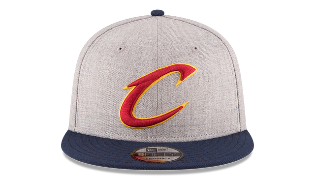 CLEVELAND CAVALIERS 2TONE HEATHER 9FIFTY SNAPBACK