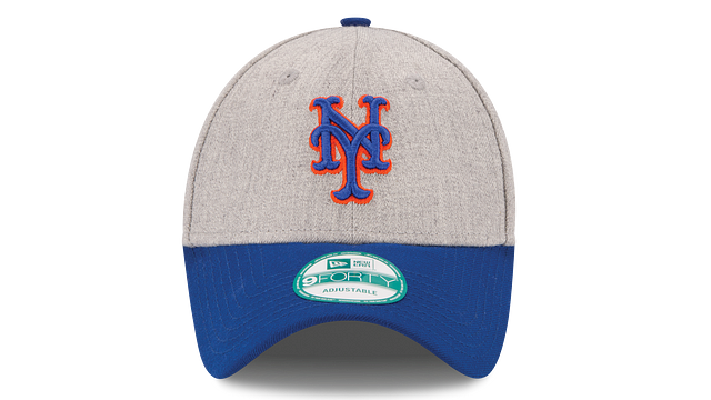 NEW YORK METS HEATHER 9FORTY ADJUSTABLE