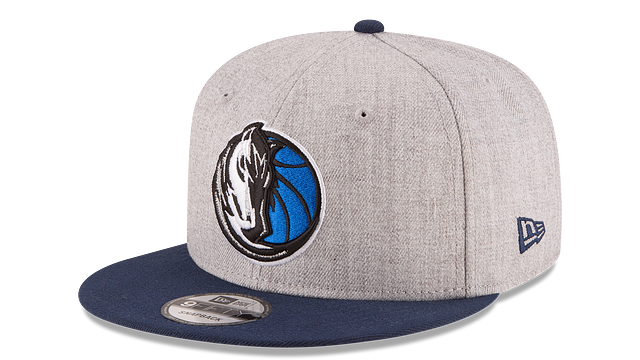 DALLAS MAVERICKS 2TONE HEATHER 9FIFTY SNAPBACK