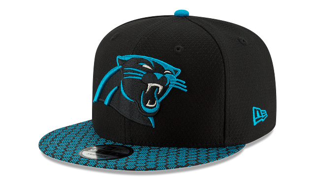 CAROLINA PANTHERS OFFICIAL SIDELINE 9FIFTY SNAPBACK