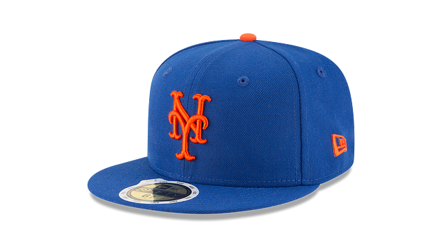 KIDS NEW YORK METS AUTHENTIC COLLECTION 59FIFTY FITTED