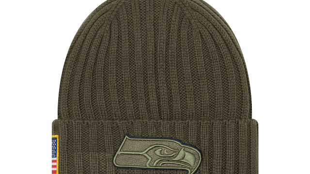 SEATTLE SEAHAWKS SALUTE TO SERVICE KNIT