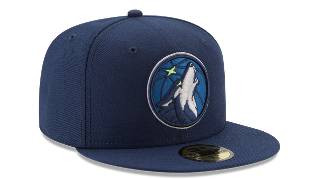 MINNESOTA TIMBERWOLVES TEAM COLOR 59FIFTY FITTED