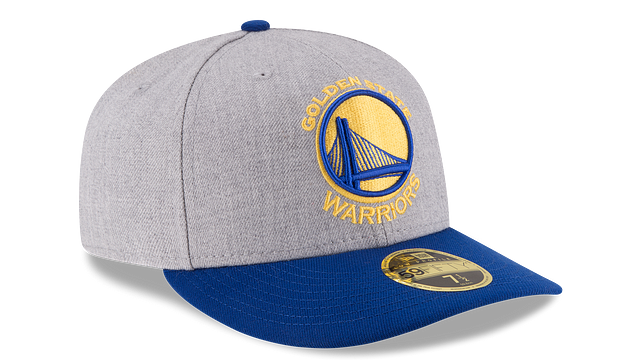 GOLDEN STATE WARRIORS HEATHER LOW PROFILE 59FIFTY FITTED