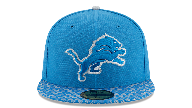 DETROIT LIONS OFFICIAL SIDELINE 59FIFTY FITTED