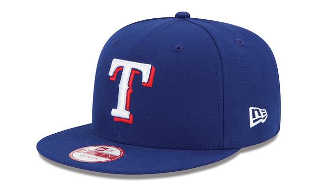 TEXAS RANGERS MLB BAYCIK 9FIFTY SNAPBACK