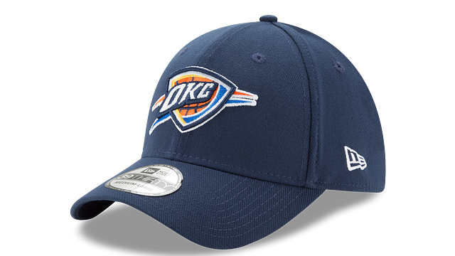 OKLAHOMA CITY THUNDER TEAM CLASSIC 39THIRTY STRETCH FIT