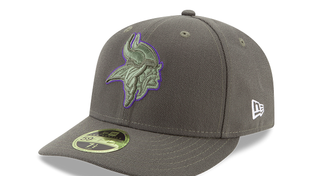 MINNESOTA VIKINGS SALUTE TO SERVICE LOW PROFILE 59FIFTY FITTED