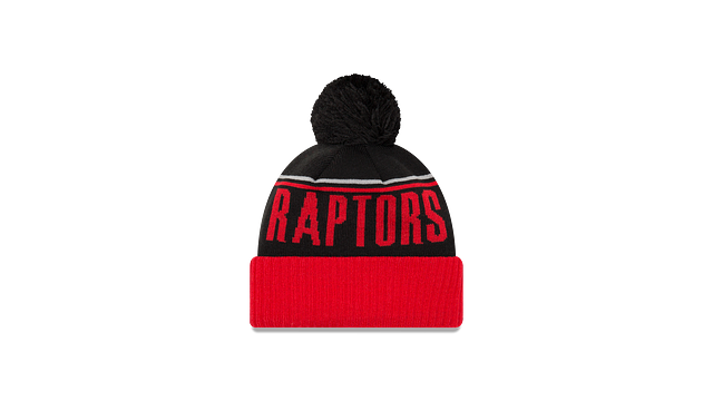 TORONTO RAPTORS JUMBO CHEER KNIT Rear view