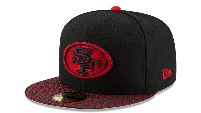 SAN FRANCISCO 49ERS OFFICIAL SIDELINE 59FIFTY FITTED