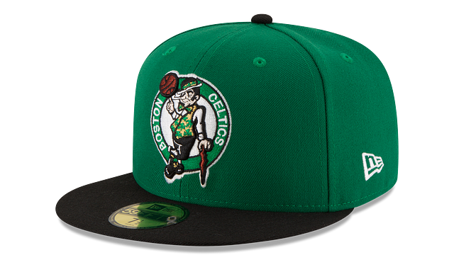 BOSTON CELTICS 2TONE 59FIFTY FITTED