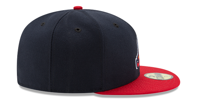 KIDS ATLANTA BRAVES AUTHENTIC COLLECTION 59FIFTY FITTED
