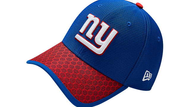 NEW YORK GIANTS OFFICIAL SIDELINE 39THIRTY STRETCH FIT