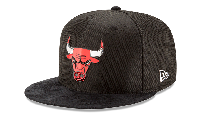 CHICAGO BULLS ON COURT 9FIFTY SNAPBACK