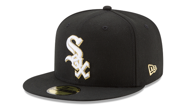CHICAGO WHITE SOX MLB CHAMPION HASHMARK 59FIFTY FITTED