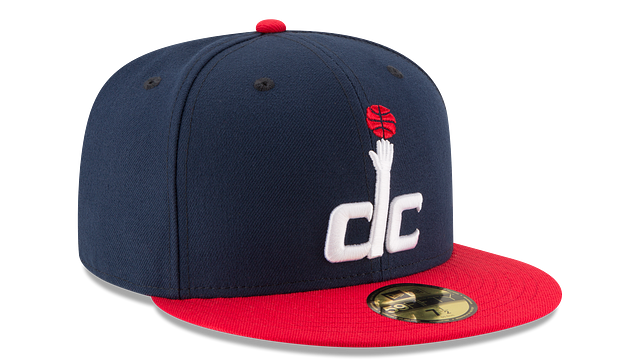 WASHINGTON WIZARDS 2TONE 59FIFTY FITTED