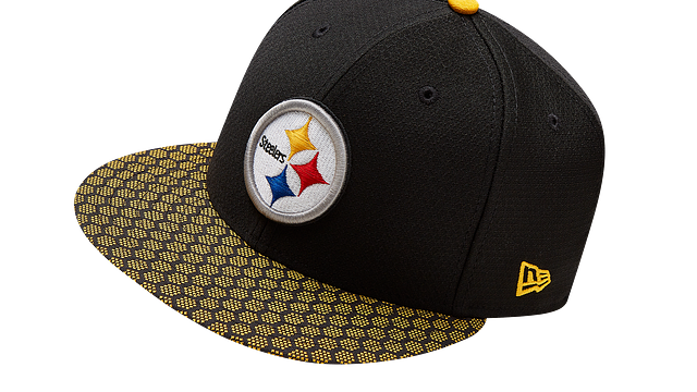 PITTSBURGH STEELERS OFFICIAL SIDELINE 59FIFTY FITTED
