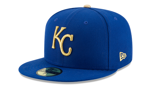 KANSAS CITY ROYALS AUTHENTIC COLLECTION 59FIFTY FITTED