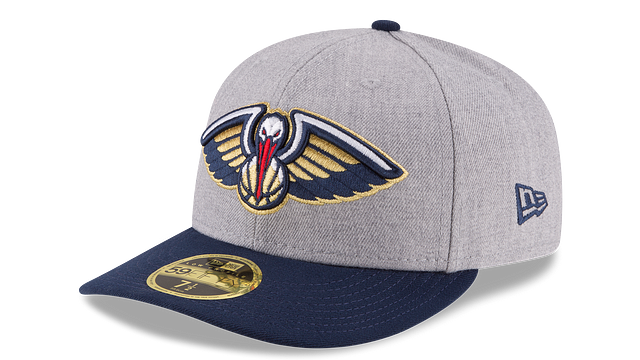 NEW ORLEANS PELICANS HEATHER LOW PROFILE 59FIFTY FITTED