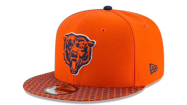 CHICAGO BEARS OFFICIAL SIDELINE 9FIFTY SNAPBACK