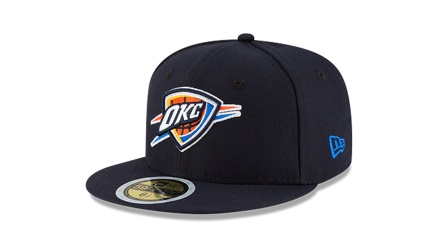 KIDS OKLAHOMA CITY THUNDER TEAM COLOR 59FIFTY FITTED