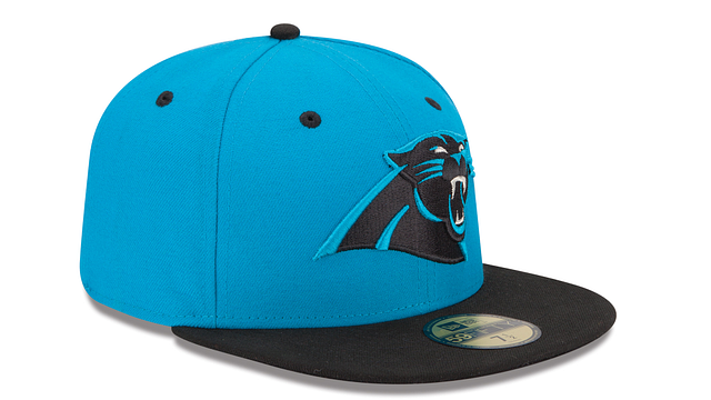 CAROLINA PANTHERS 2TONE 59FIFTY FITTED
