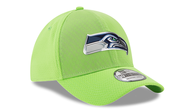 SEATTLE SEAHAWKS COLOR RUSH 39THIRTY STRETCH FIT