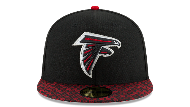 ATLANTA FALCONS OFFICIAL SIDELINE 59FIFTY FITTED