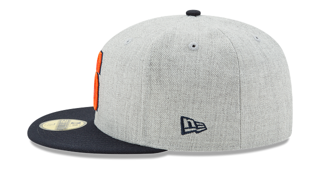 SYRACUSE ORANGE HEATHER ACTION 59FIFTY FITTED