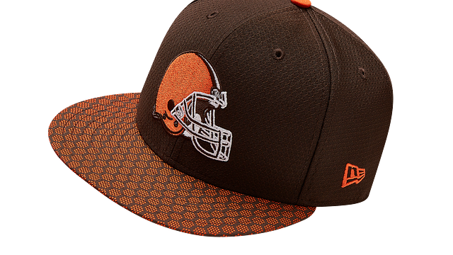 CLEVELAND BROWNS OFFICIAL SIDELINE 59FIFTY FITTED
