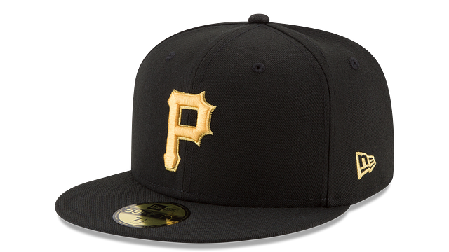 PITTSBURGH PIRATES MLB CHAMPION HASHMARK 59FIFTY FITTED