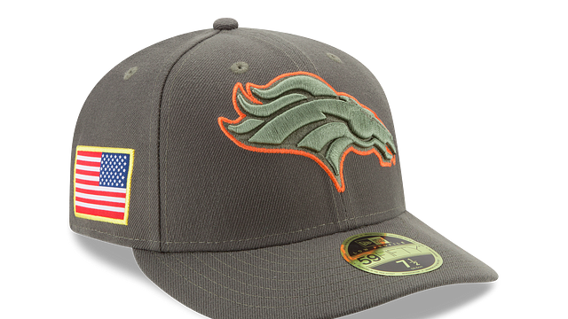 DENVER BRONCOS SALUTE TO SERVICE LOW PROFILE 59FIFTY FITTED