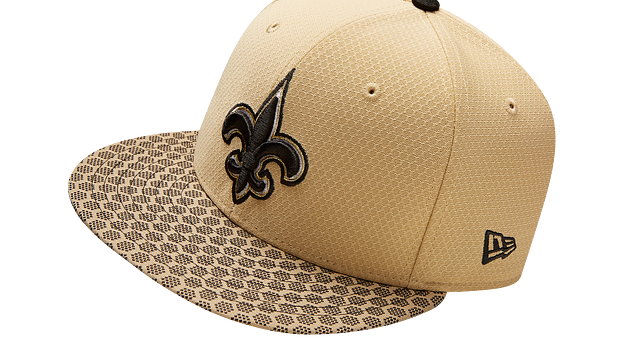 NEW ORLEANS SAINTS OFFICIAL SIDELINE 9FIFTY SNAPBACK