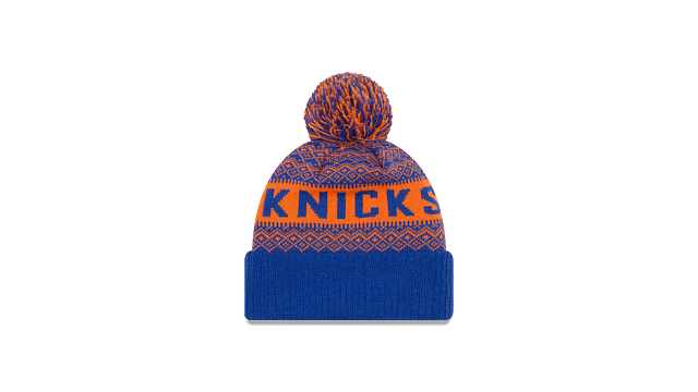 NEW YORK KNICKS WINTRY POM KNIT Rear view