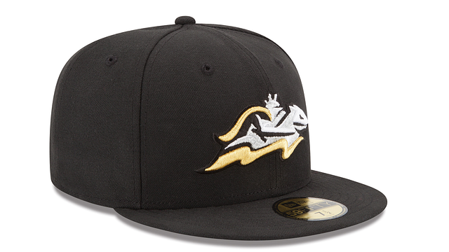 CHARLOTTE KNIGHTS AUTHENTIC COLLECTION 59FIFTY FITTED