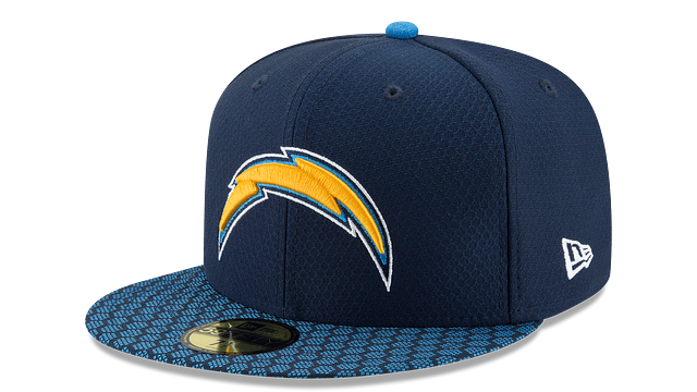 LOS ANGELES CHARGERS OFFICIAL SIDELINE 59FIFTY FITTED