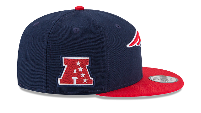 NEW ENGLAND PATRIOTS TEAM PATCHER 9FIFTY SNAPBACK