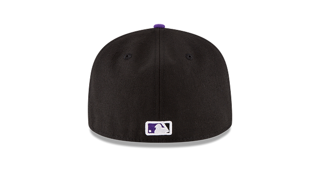 KIDS COLORADO ROCKIES AUTHENTIC COLLECTION 59FIFTY FITTED Rear view