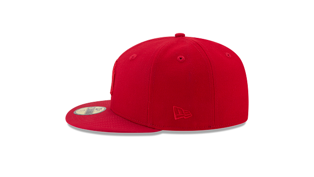 NEW YORK YANKEES SCARLET NUBUCK 59FIFTY FITTED