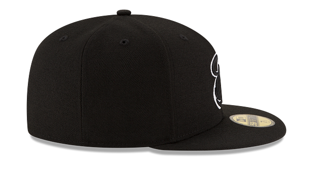 MIAMI HEAT BLACK & WHITE 59FIFTY FITTED