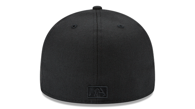 TEXAS RANGERS BLACK ON BLACK 59FIFTY FITTED