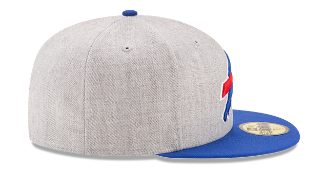 BUFFALO BILLS HEATHER ACTION 59FIFTY FITTED
