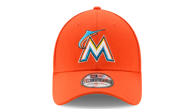 KIDS MIAMI MARLINS TEAM CLASSIC 39THIRTY STRETCH FIT