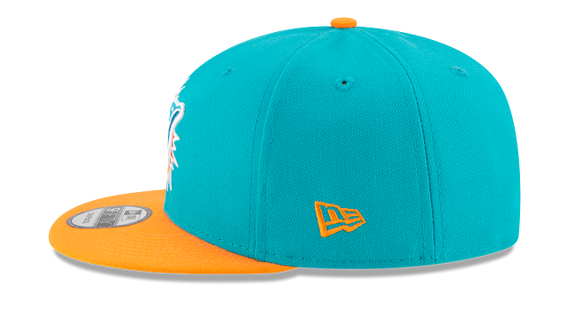 MIAMI DOLPHINS TEAM PATCHER 9FIFTY SNAPBACK