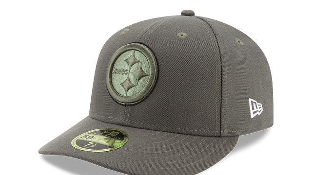PITTSBURGH STEELERS SALUTE TO SERVICE LOW PROFILE 59FIFTY FITTED